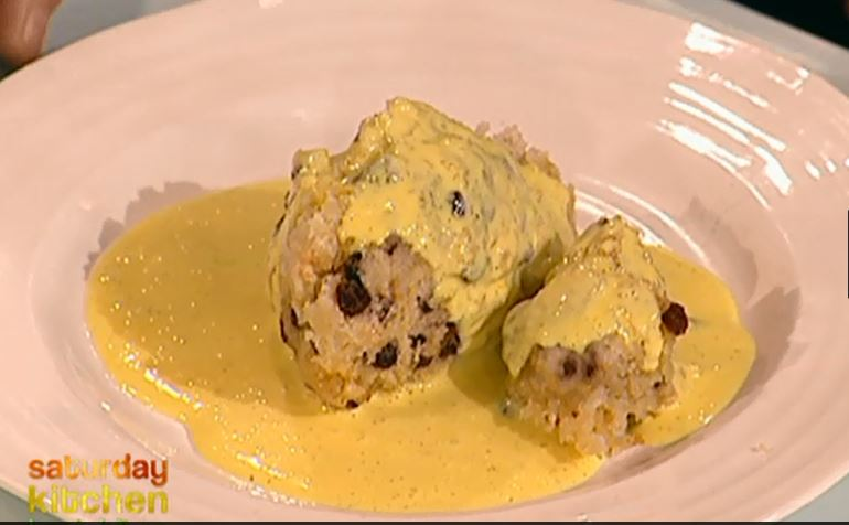 "Пудинг ""Пятнистый Дик"" (Spotted dick)"